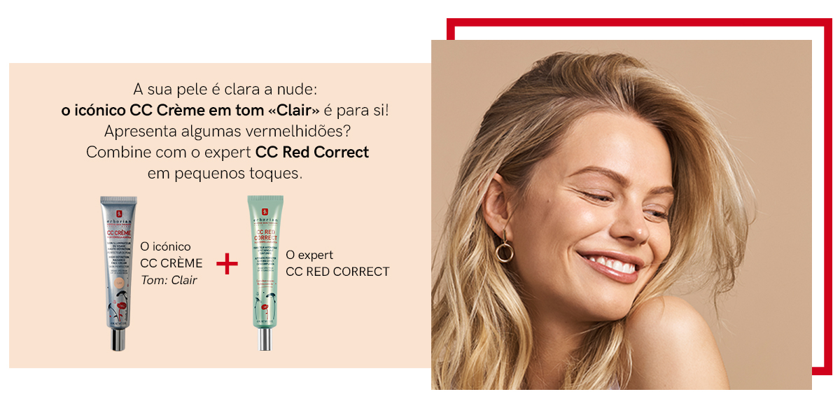 CC CRÈME + CC RED CORRECT