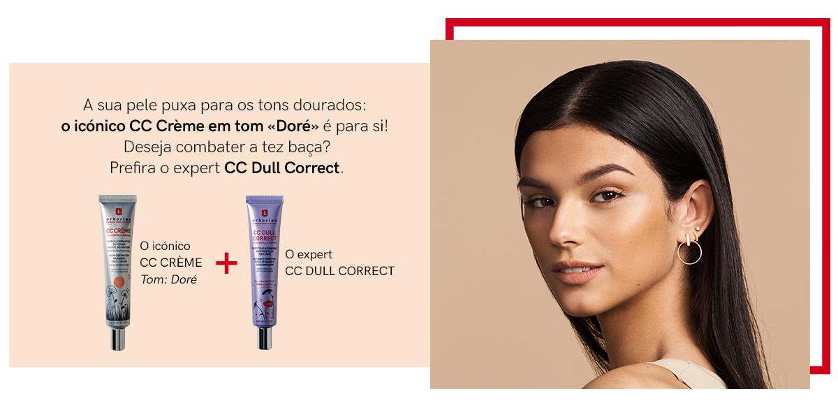 CC CRÈME + CC DULL CORRECT