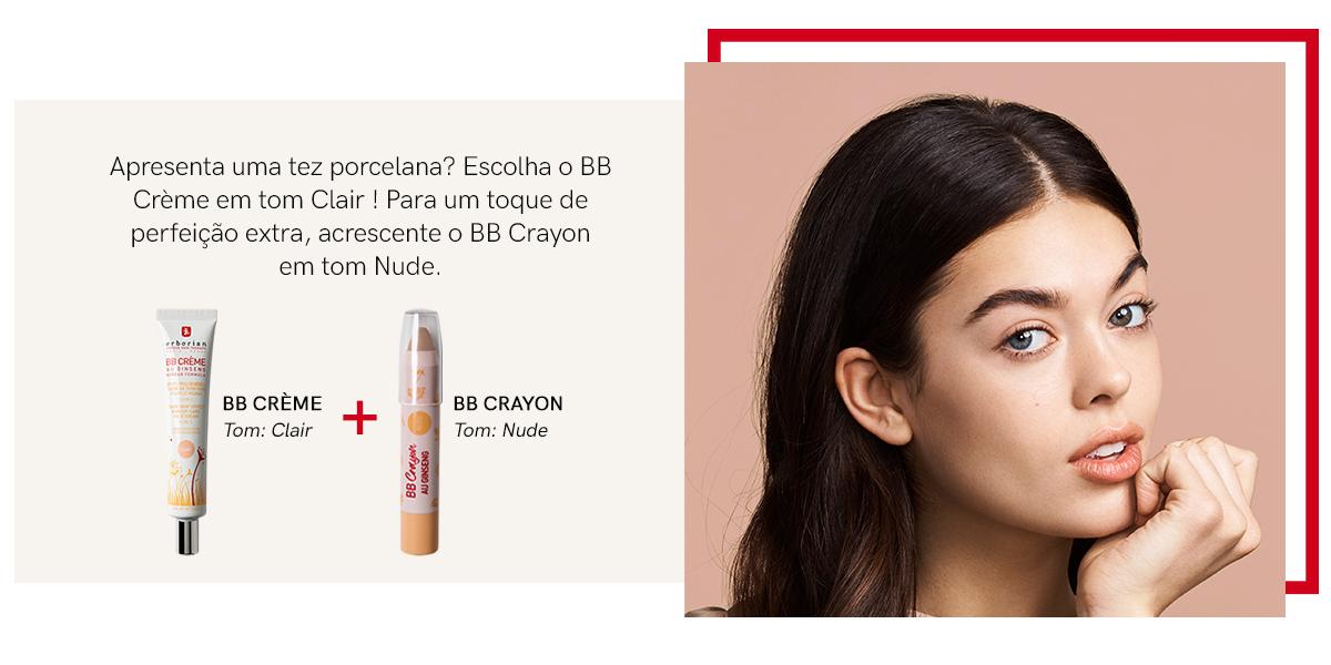 BB CRÈME + BB CRAYON